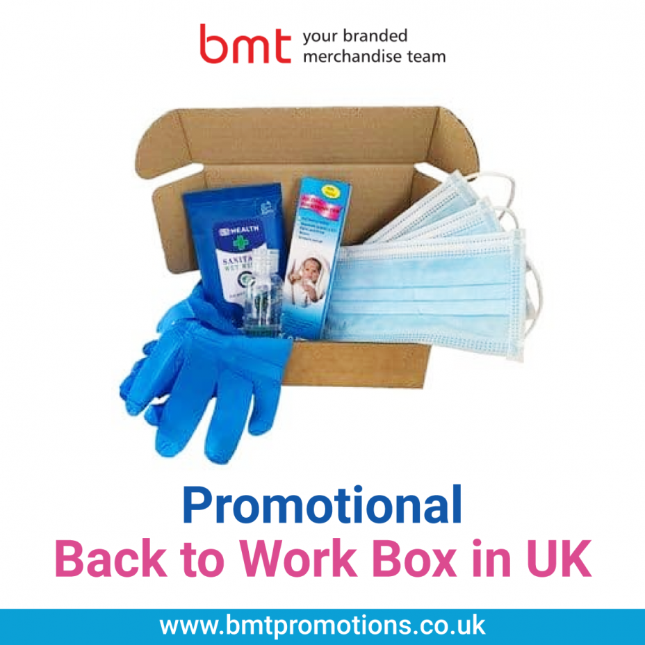 Promotional Back to Work Box in UK
