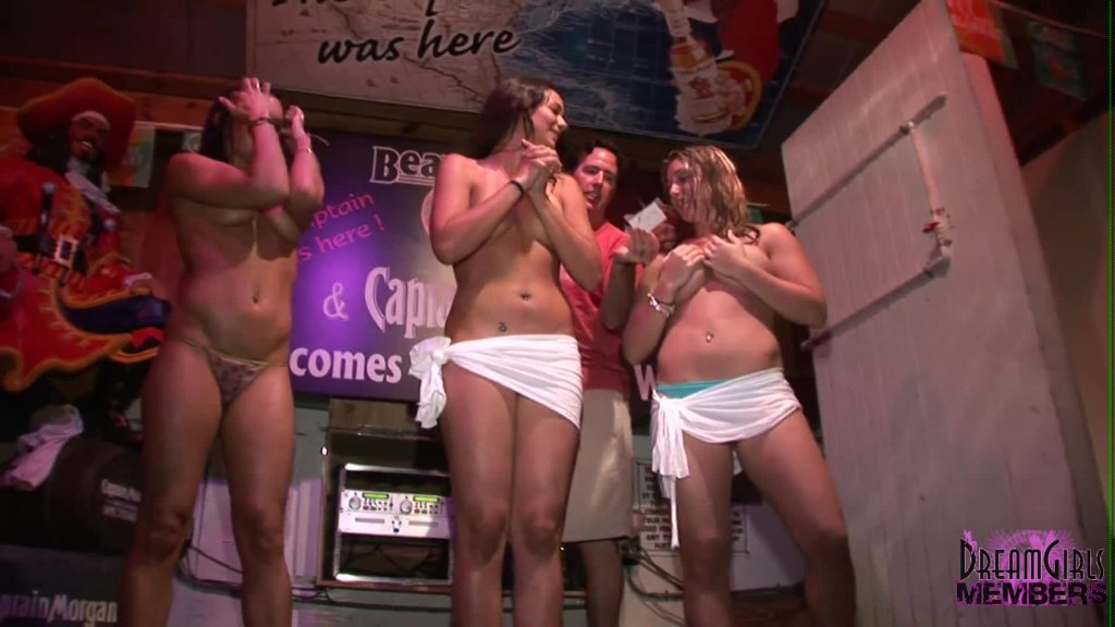 Dream Girls Wet T Shirt  Competition