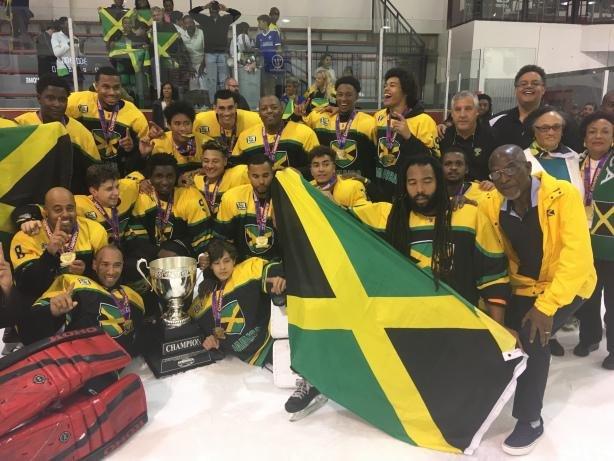 JAMAICA DEFEATS COLOMBIA, WINS ICE HOCKEY CHAMPIONSHIP, CREATES HISTORY