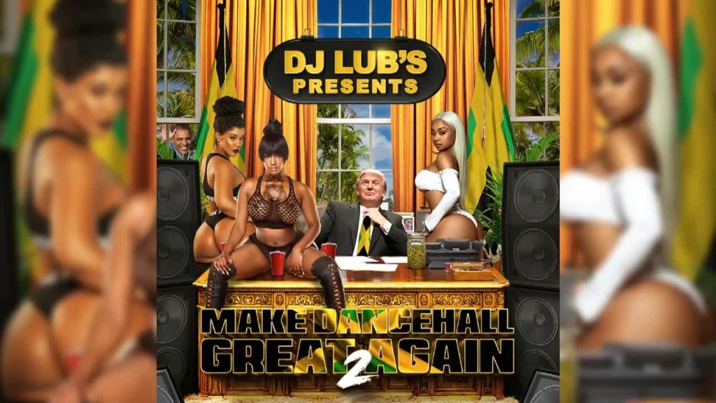 DANCEHALL 2017 ' MAKE DANCEHALL GREAT AGAIN ' BY DJ LUB'S - Vybz Kartel, Aidonia, Masicka, Rdx MORE (1)