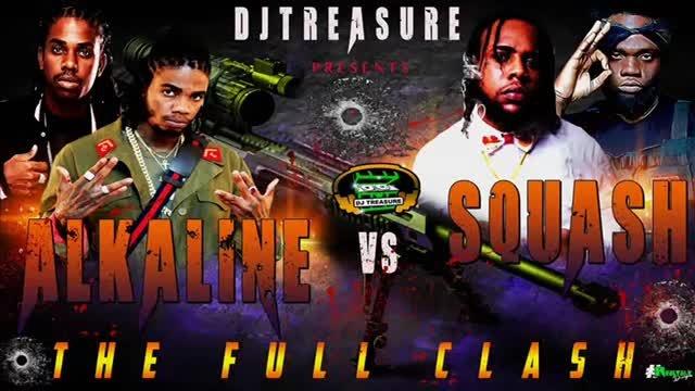 ALKALINE VS SQUASH MIX 2019   FULL CLASH SONGS ► DANCEHALL MIX OCTOBER 2019 RAW   DJ TREASURE 2019