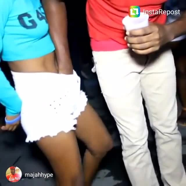 Man Fingering Girl Pussy in Public / Dancehall Madness