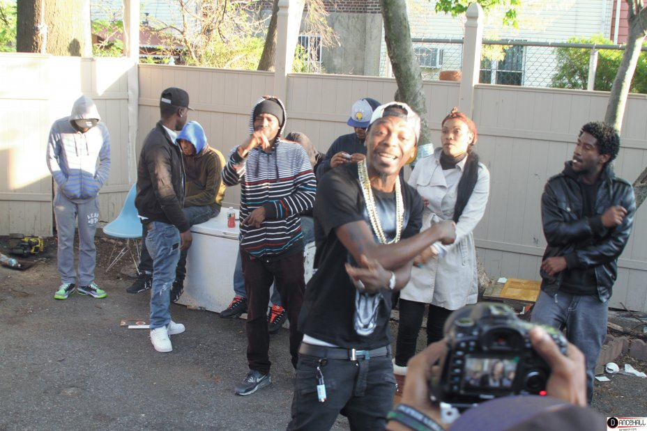 Behind The Scene Of Rally Bop Video Shoot - Here Dem A Seh 6
