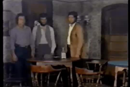 Gun-slap scene from Trinity 1