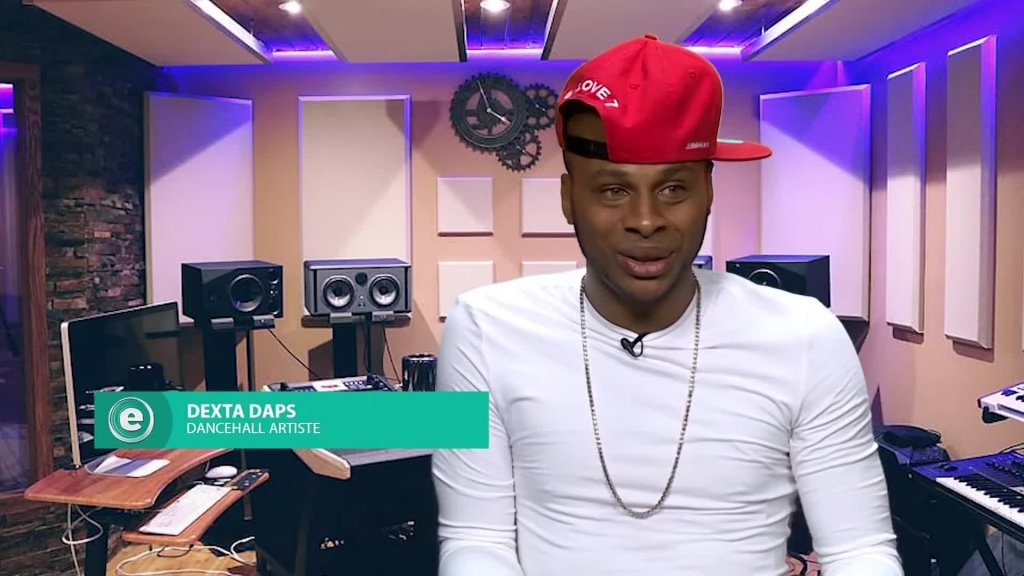 Dexta Daps Breaking News And Connecting With Fans _ E-Live _ CVMTV